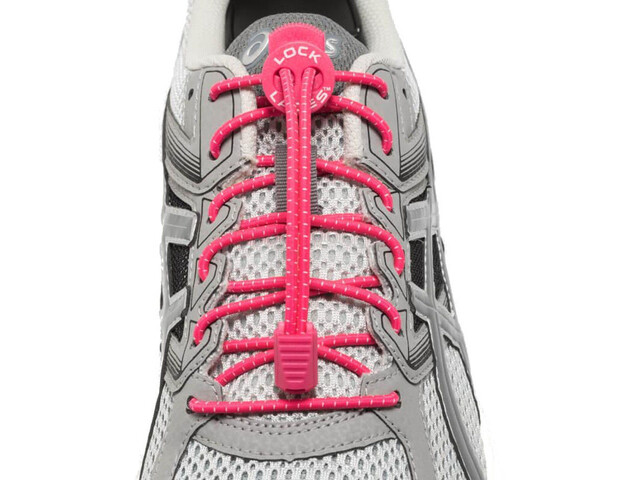 Lock Laces Run Laces, pink